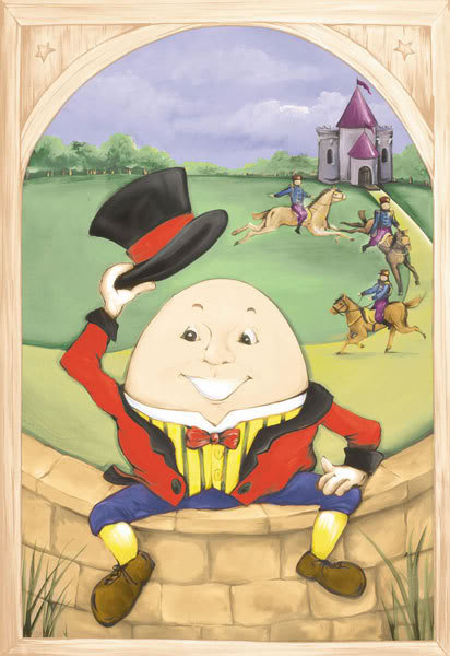 humpty dumpty poem. Did you know Humpty Dumpty was